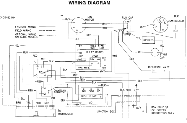 Hptstatwiresmall on Duo Therm Rv Air Conditioner Wiring Diagram