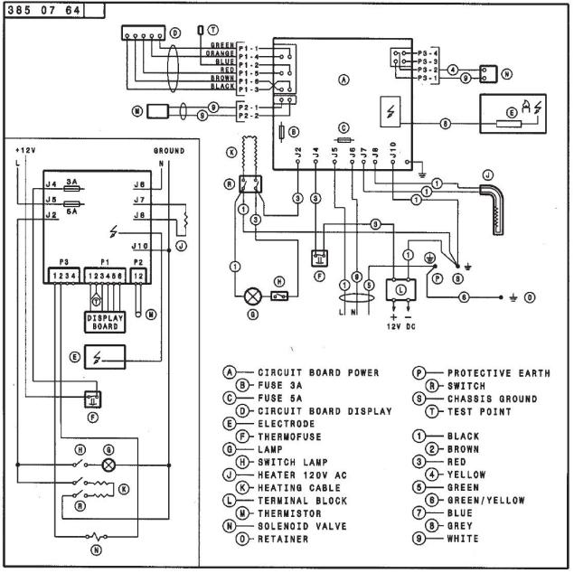 Dometic Rm2652 Circuit Board Wiring Diagram